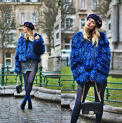 Ruxandra Ioana - Lightinthebox Coat, Sterkowski Beret, Sigerson Morrison Boots - Another one