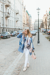 Anna Turanova - Reserved Scarf, Reserved Coat, Reserved Pants, Reserved Sneakers, Reserved Bag - Cozy January