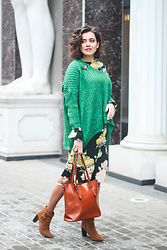 Katerina Lozovaya - Shein Sweater, H&M Dress, Zaful Bag - Sign up