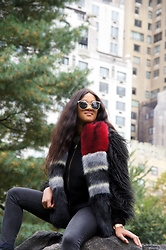Mirjam -  - Staying warm in the Central Park
