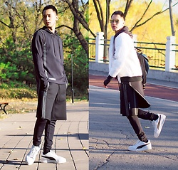 Chris Su - Puma X Ueg Suit, Puma Sneakers - Sporty