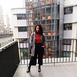 Maë RZF - Primark Jacket, H&M Top (Old Collection), H&M Culotte Pants, H&M Boots (Old Collection) - MELODRAMA