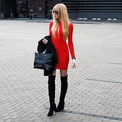 Diane Fashion -  - Red mini dress