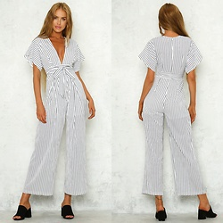 Hello Molly Love -  - Take The Bait Jumpsuit