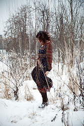 Anna N - Artka Dress - Happy in the snow