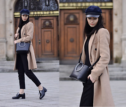 Native Gal -  - Camel Coat