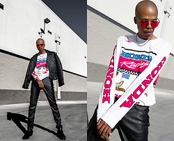 Dominic Grizzelle - Forever 21 Honda Long Sleeve, H&M Leather Pants - Drag Race