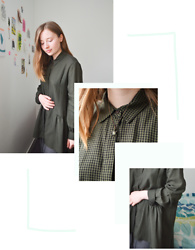 Jasmine - Zara Green Check Shirt, Accessorize Favourite Turtle Necklace - Shirt Squared