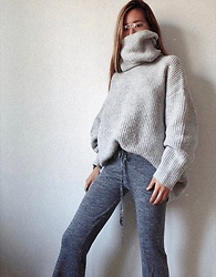 Da Li - Zara Sweater, Zara Pants - Cozy Sunday