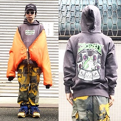 @KiD - (K)Ollaps Electronica, Supa Resque Wears Silex Vs, Rothco 6xl Bomber, Camper Bernhard Willhelm, Rothco Yellow Camouflage - JapaneseTrash302