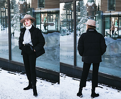 Christa Könönen - Lack Of Color Hat, Tommy Hilfiger Shoes, H&M Sweater, Junkyard Xx Xy Jacket - 050218 ig @chsnafu