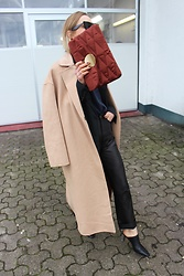 Anna Borisovna - Mango Bag, Mango Coat, H&M Pants, Mango Shoes - The Long Coat