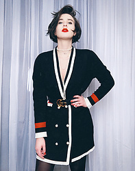 Wiktoria Celmer - Zara Jacket Dress, Gucci Belt - DYNASTY