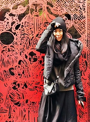 Miasonnig SU - Rick Owens Coat, Alexander Wang Bag, Y'S Scarf - Ready for Chinese New Year