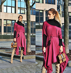 Ruxandra Ioana - Rosegal Tunic, Rosegal Bag, Kendall+Kylie Boots - Use your imagination
