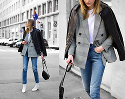 Katarina Vidd - Checked Blazer, All On My Blog - Checked blazer