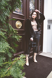 Anna Puzova - Zaful Jacket, Rosegal Top, Sammydress Pants, Sammydress Boots, Stuudio Nahk Bag - COOL GIRL
