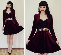 Kary Read♥ - Belt, Dress - Velvet♥