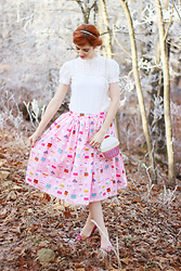 Bleu Avenue Ofbleuavenue - Nila Anthony Cupcake Purse, Handmade Cupcake Skirt - Bake Shop Sweetie
