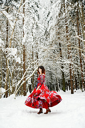 Anna N - Artka Dress - Colouring the winter