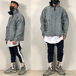 Ip Ricky - Fb: Wood Place Jacket, Ig: Woodxplace Pants - Winter 1