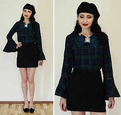 Kary Read♥ - Brooch, Top, Hat - Shein♥Top