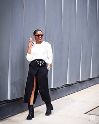 Monica Awe-Etuk -  - AWED BY MONICA: NYFW RECAP