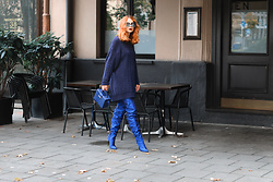 Katharina K. -  - Blue Over the Knee Boots