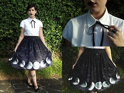 Bruna Santos - Skirt - Moon