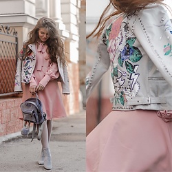 Inessa Melnik - Shein Dress, Asos Jacket - Oh!Spring