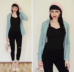 Kary Read♥ - Hat, Earrings, Jeans - Vintage♥