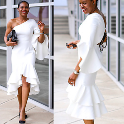 Monica Awe-Etuk -  - THE RUFFLE DRESS FASHIONISTA'S ARE OBSESSING OVER