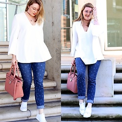 Ania K. [www.overdivity.com] - Blouse, Sweater, Sneakers - Stars shine bright