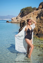 Kintan T - C&A Beach Kimono, Pimkie Swimsuit, C&A Sunny - WONDERFUL BEACH DAY IN CRETE