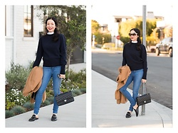 "Lisa Valerie Morgan - Sandro Sweater, Mott & Bo Jeans, Chanel Bag, Gucci Loafers - ""East Coast Style"""