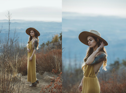 Alexandra Ford Hamilton - Pol Dress - Palomar Mountain