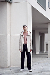 Fabio G. - Stutterheim Raincoat, Gucci Knit, Topman Jeans - Raincoat