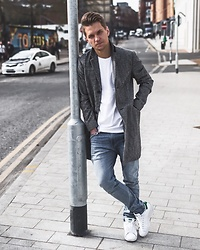 Dbrodovski - Topman Jacket, Zara Tshirt, Levi's® Jeans, Adidas Shoes - It's always about choosing our own style*