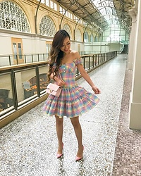Sasa Zoe - Dress, Heels - ALL THAT RAINBOW FEELS