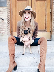 Sydney Hoffman - Aldo Over The Knee Boots - My Best Friend