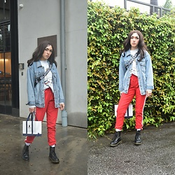 Fruitdandy - Puma Trousers, Dr. Martens Boots, Supreme Fanny - Rainy Season