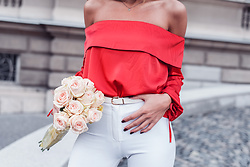 Dragana Savic - Na Kd Blouse, Zara Pants - Pure romantic