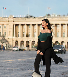 Gilda - Asos Crop Top, H&M Pants - Paris again