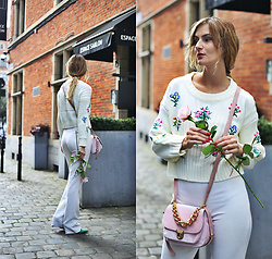 Ruxandra Ioana - Zaful Sweater, Deux Lux Bag - Life is a journey