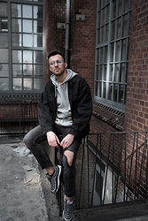 Lucca B. - Nike Shoes, Asos Jacket, Shades Glasses - Sneaker love