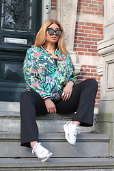 The Curvy Chapter Saskia - Ms Mode Jungle Bomber - JUNGLE BOMBER