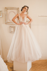 Aevoulette Benssalconia - Katty's Brides Wedding Dress, Katty's Brides Jewelry - Wedding Bells 1