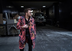 Lucca B. - Paul Smith Jacket, Komono Shades - Flowers