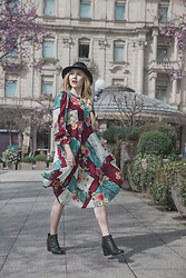 Nicola Marleen - Dixie Dress, Incognito Inc Shoes, Bebe Hat - Spring is here! | Morningelegance.de