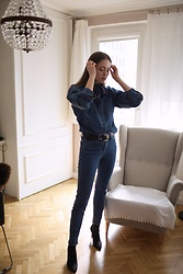 Kasia Szymków -  - Denim on Denim